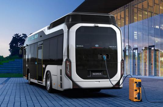 One year to go: Toyota unveils Tokyo 2020 zero emission transport