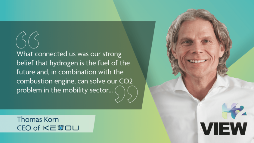 Passionate about hydrogen, driven to decarbonise the mobility sector: KEYOU's CEO Thomas Korn talks to H2 View