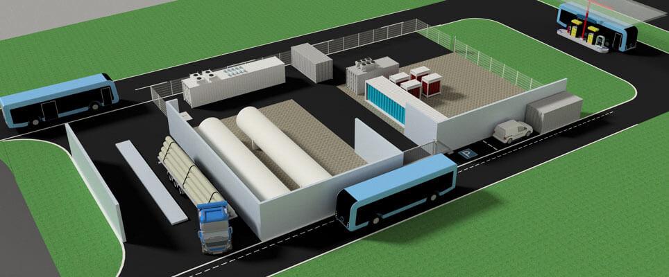 Framatome to develop hydrogen station to support German bus fleet