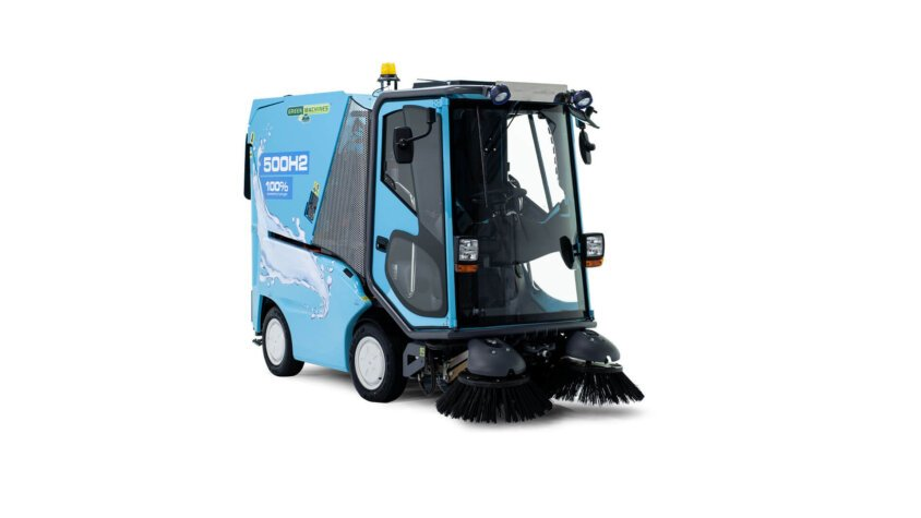 Green Machines launches hydrogen fuel cell sweeper