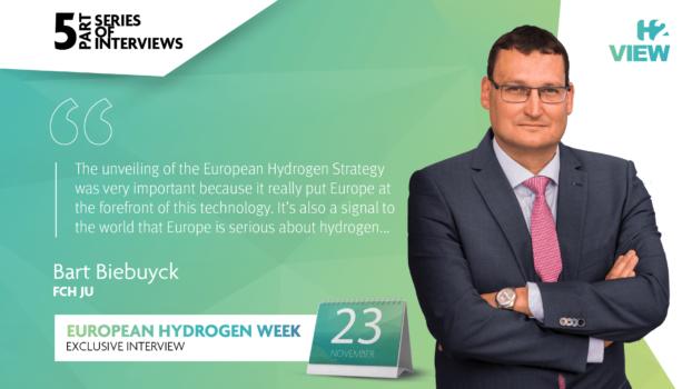 European Hydrogen Week: An interview with FCH JU's Bart Biebuyck