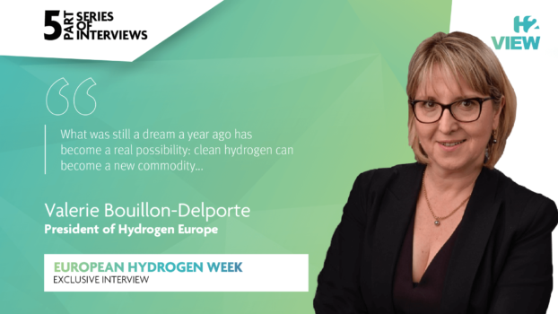 European Hydrogen Week: An interview with Hydrogen Europe's Valérie Bouillon-Delporte