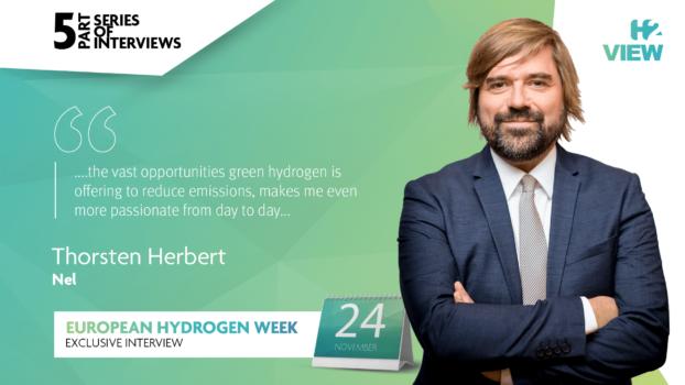 European Hydrogen Week: An interview with Nel Hydrogen's Thorsten Herbert