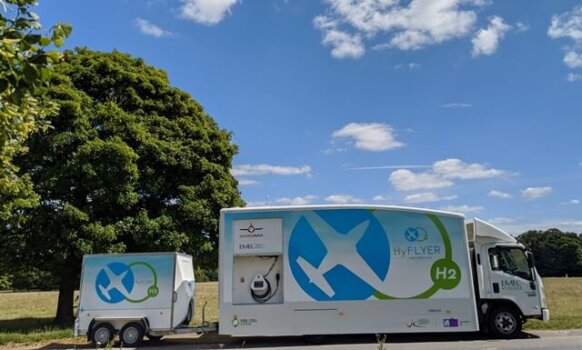 EMEC develops new hydrogen refuelling solution to support the aviation market