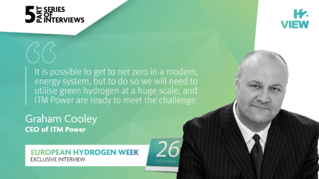European Hydrogen Week: An interview with ITM Power's Graham Cooley
