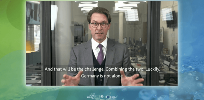 Andreas Scheuer: Hydrogen can be the fuel of the future