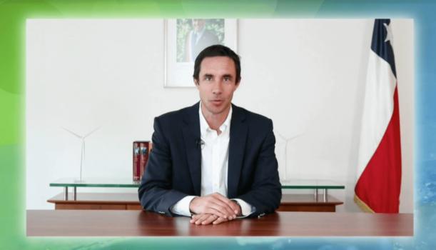 Minister Jobet discusses Chile's ambitious hydrogen goals at European Hydrogen Week