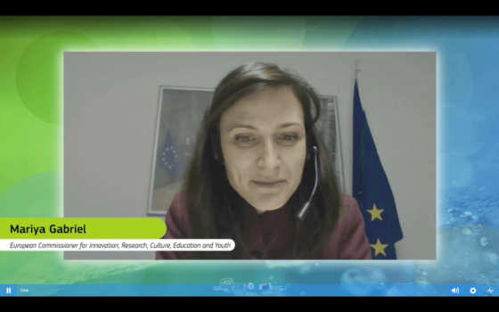 Mariya Gabriel: Robust public and private investment is needed for a climate neutral Europe