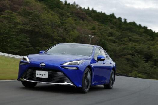 Toyota targeting 10-fold increase in global Mirai sales