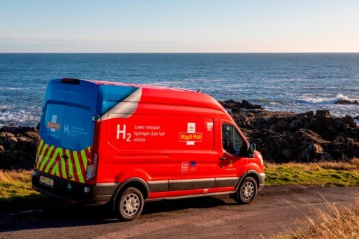 Royal Mail trials hydrogen-powered van for parcel and letter deliveries