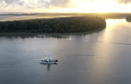 Energy Observer on course for French Guiana