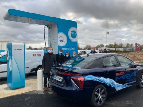 Normandy's largest hydrogen station now open