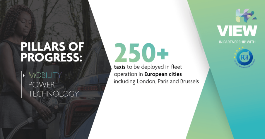 Pillars of Progress: Mobility – Hydrogen-powered taxicabs cruise into Europe's cities