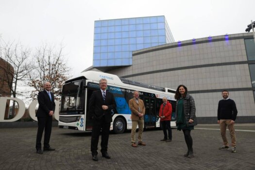 Dublin City University playing a key role in Ireland's first hydrogen bus trial