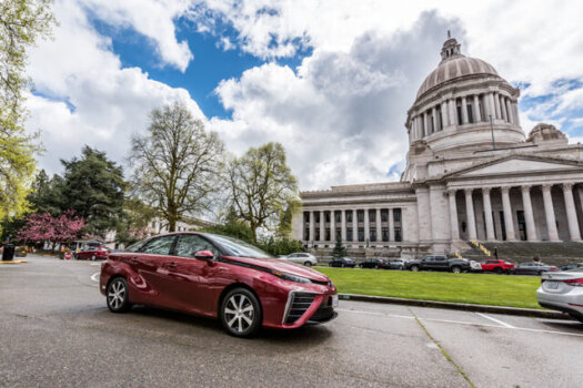 Sen. Brad Hawkins prefiles bill to promote hydrogen-powered vehicles