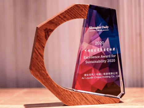 Air Liquide China recognised for hydrogen efforts