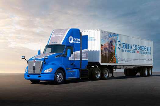 Toyota equips Kenworth trucks will next generation fuel cell system