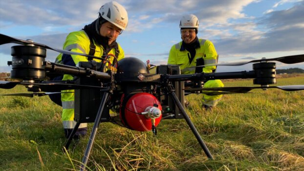 Hydrogen drone flight completed in Scandinavia