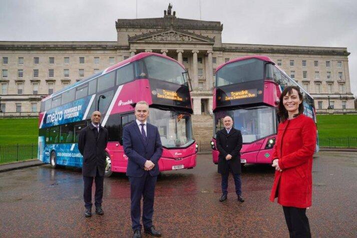 First hydrogen buses enter service in Northern Ireland