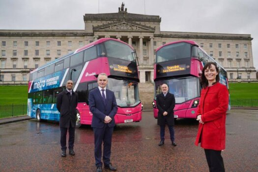 First hydrogen buses enter service in Northern Ireland