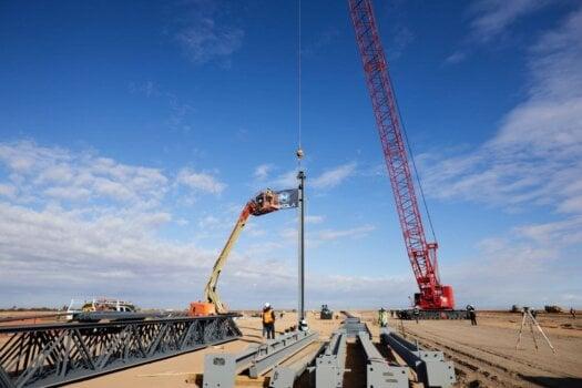Work continues at Nikola's Arizona site
