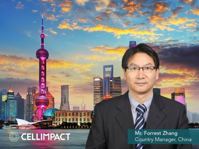 Cell Impact appoints new Manager in China