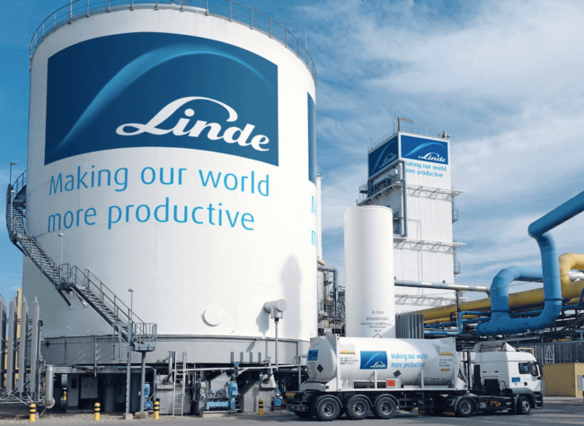 Linde discusses blue and green hydrogen; showcases electrolyser range