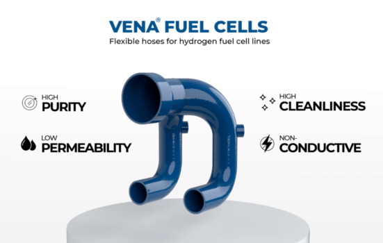 Venair Group launches new flexible hose for Hybrid lines