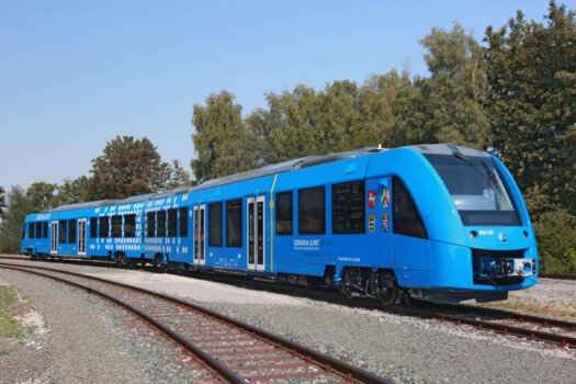 Wystrach supplies tank systems for world's first hydrogen-powered train