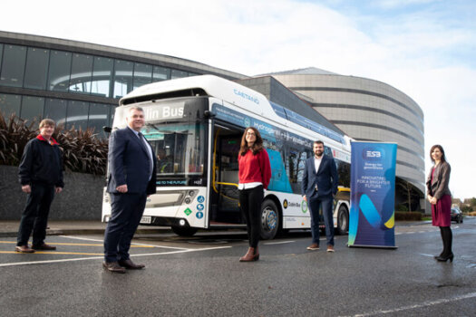 Dublin's first hydrogen bus now operational