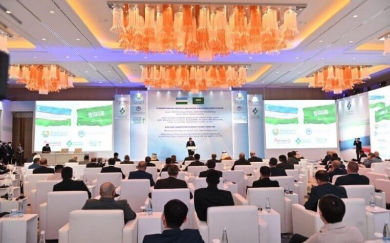 Uzbekistan Ministry of Energy, ACWA Power, Air Products sign hydrogen deal