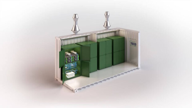 TECO 2030 unveils new fuel cell container