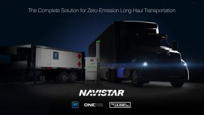 GM, OneH2 and Navistar to launch hydrogen truck ecosystem