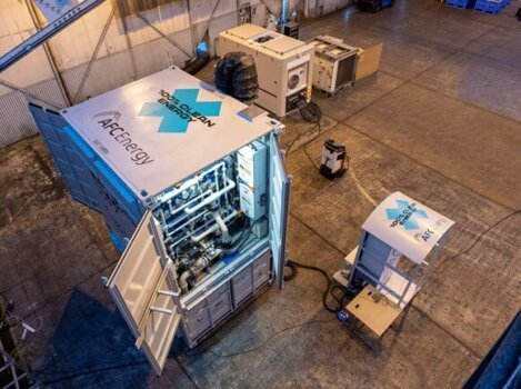 First for motorsport: Extreme E unveils hydrogen fuel cell generator