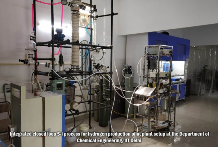 IIT Delhi researchers complete successful hydrogen production project
