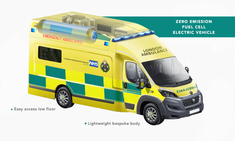 Hydrogen-powered ambulance to hit London roads this autumn