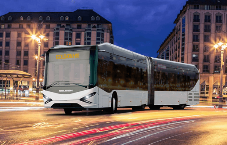 GOLDiON H18 bus to run on both hydrogen and electricity