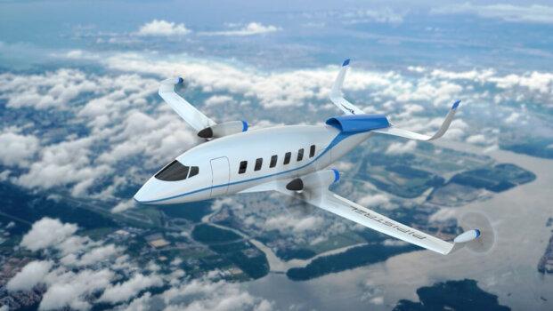 Pipistrel unveils hydrogen-powered aircraft