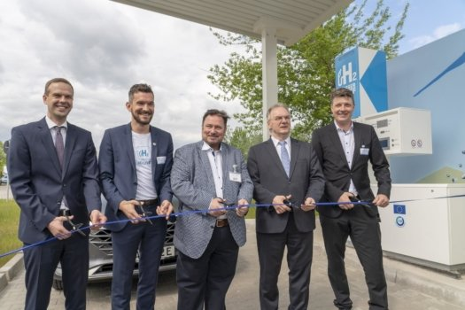 Germany's 70th hydrogen station opens