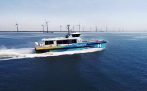 CMB developing hydrogen vessels