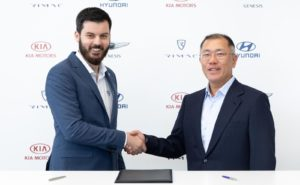 Hyundai partners with Rimac to develop fuel cell cars