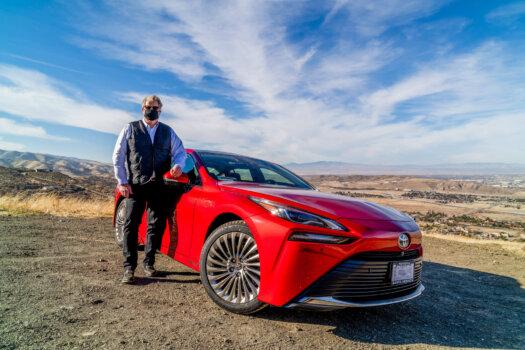 Toyota's 2021 Mirari hits Lancaster, California