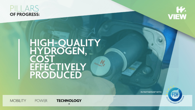 Pillars of Progress: Technology – High-quality hydrogen, cost effectively produced