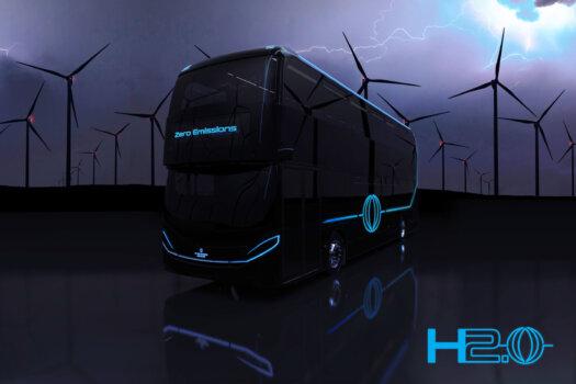 ADL unveils new hydrogen bus development