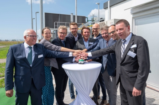 Power-to-gas plant opens