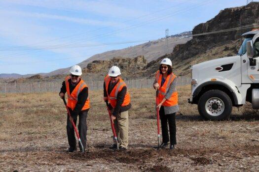 Douglas PUD breaks ground on renewable hydrogen facility