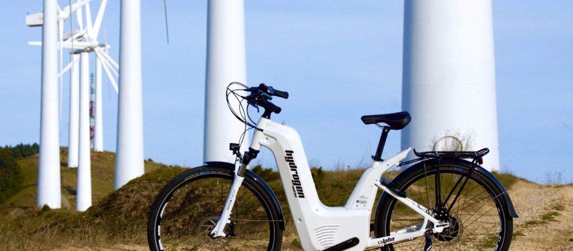 Hydrogen bike gets 50% range boost – and its heading to G7 Summit next year