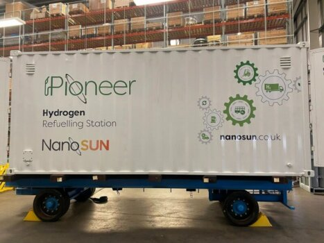 NanoSun unveils its first-ever large-scale hydrogen refueller