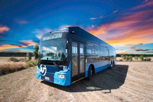 Ballard technology powering New Zealand's first hydrogen bus