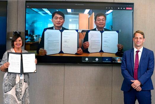 Origin Energy, POSCO ink green hydrogen deal